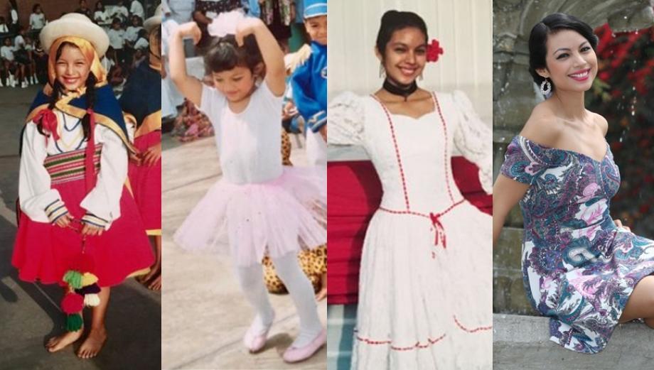 Cindy Díaz comparte fotografías de su archivo personal