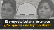 Proyecto Letona-Aramayo: ¿Por qué es una ley mordaza? [VIDEO]