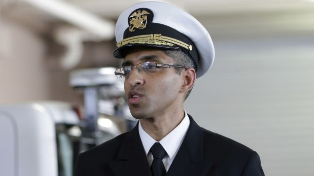 Dr. Vivek Murthy. (AP)