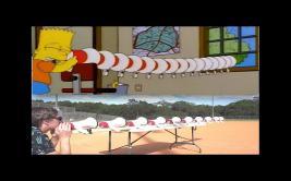 Recrea ruidosa broma de Bart Simpson y es el viral de la semana