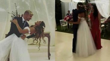 Mario y Korina se casaron: filtran fotos de la ceremonia