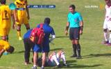 Torneo de Verano: Willyan Mimbela se desmayó en pleno partido