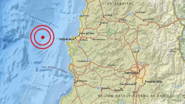 Un sismo de 6 grados sacudió el centro de Chile