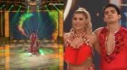 Viviana Rivas Plata sufre caída en la pista de baile [VIDEO]