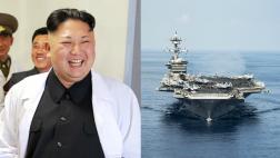 """Norcorea: """"Estamos listos para atacar portaaviones de EE.UU."""""""