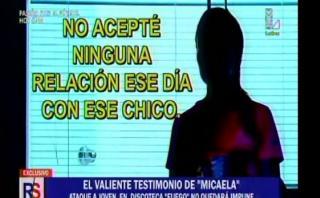 Más de 100 menores fueron intervenidos en el local de Villa María del Triunfo. (Imagen: América TV)