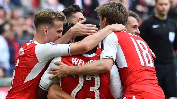 Arsenal jugará final de FA Cup: eliminó al Manchester City con gol de Alexis. (Video: YouTube)