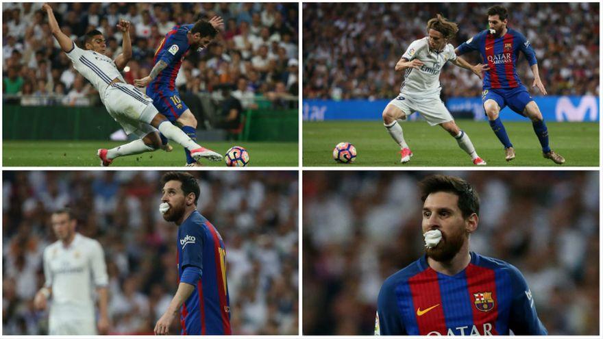 Real Madrid no sufrió la presión de Barcelona y goleó