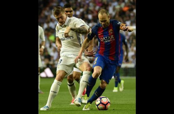 Real Madrid vs. Barcelona: el agónico triunfo culé en imágenes