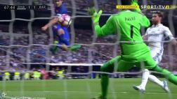 La increíble atajada de Keylor Navas a Luis Suárez [VIDEO]