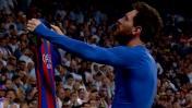 Lionel Messi: la épica celebración que le gritó al Bernabéu