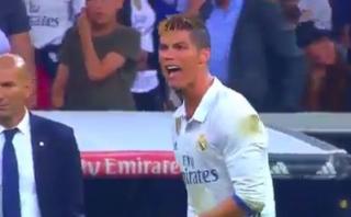 Cristiano Ronaldo desató toda su ira tras gol de Lionel Messi