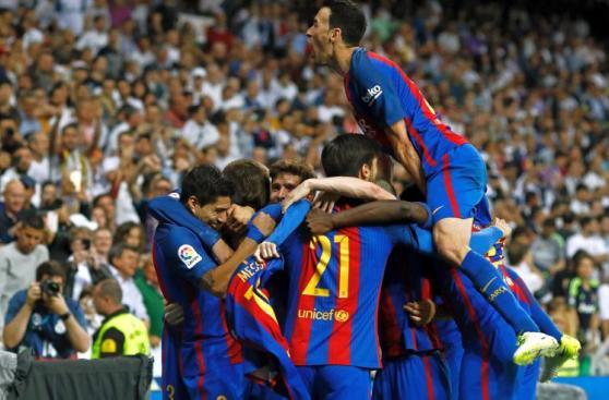 Real Madrid vs Barcelona: la euforia blaugrana en el Bernabéu