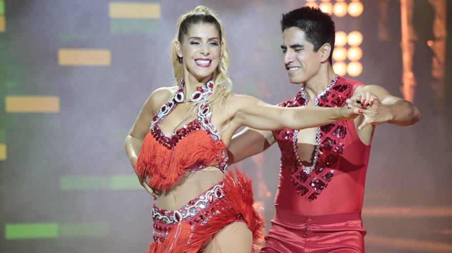 Viviana Rivasplata sufrió tremenda caída durante su presentación — El Gran Show