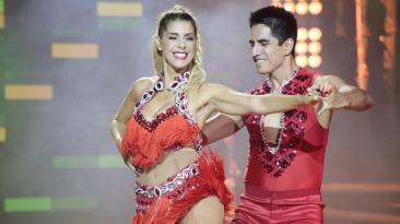 """Viviana Rivas Plata y su accidentada noche en """"El gran show"""""""