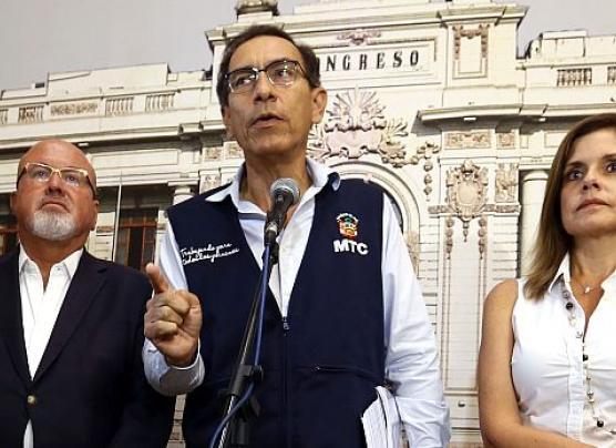 Vizcarra dice que aceptaría nueva interpelación por Chinchero