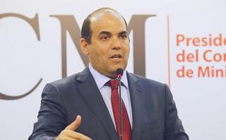Fernando Zavala aseguró que la empresa privada nacional y extranjera participará en la reconstrucción. (América TV)