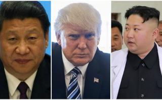 """China pide """"moderación"""" tras hablar con Trump sobre Norcorea"""