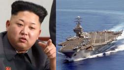Norcorea reforzará armas nucleares por portaaviones de EE.UU.