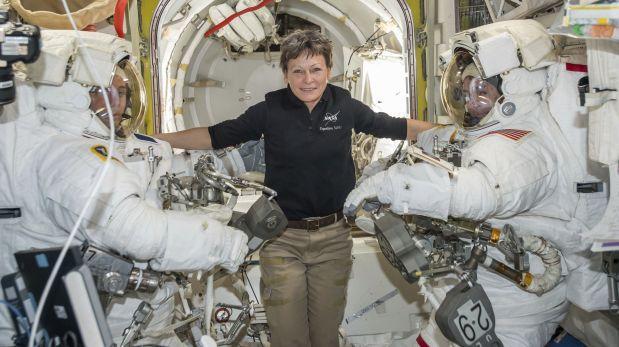 La estadounidense con más tiempo en el espacio — Nuevo récord