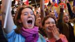 Francia: Partidarios de Emmanuel Macron celebran la victoria - Noticias de paris