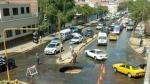 Trujillo: se forman dos grietas en avenida del centro histórico - Noticias de brenda liz silupu garces responsable