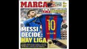 Barcelona vs. Real Madrid: las portadas de la prensa mundial