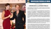 Mario Hart y Korina: municipalidad de Huaral investiga la boda