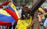 """Venezuela: El """"plantón"""" en protesta contra Nicolás Maduro"""