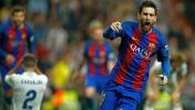 Lionel Messi publicó este mensaje tras su gol al Real Madrid