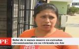 Surco: bebe de seis meses murió en extrañas circunstancias