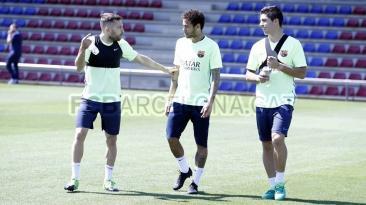 Barcelona se olvidó del Real Madrid y volvió a las prácticas