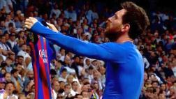Lionel Messi: la épica celebración dedicada a todo el Bernabéu