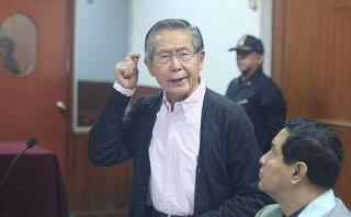 El ex presidente Fujimori fue condenado a 25 años de prisión por homicidio calificado y secuestro agravado, en las matanzas de Barrios Altos y La Cantuta.(Foto: El Comercio)