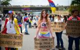 "Venezuela: oposición hizo ""plantón"" nacional contra Maduro"