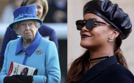 Instagram: Rihanna homenajea a su estilo a la reina Isabel II