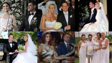 Las bodas más mediáticas de la farándula local
