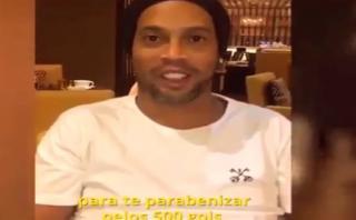 "Ronaldinho a Lionel Messi: ""Yo te regalé el primer gol"" [VIDEO]"