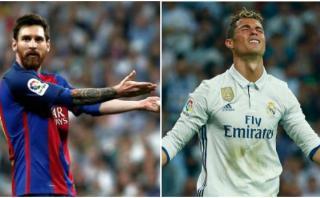 La falsa fotografía en la que Cristiano se arrodilla ante Messi