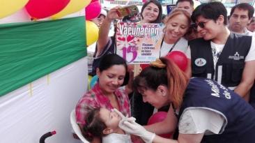 Minsa prevé vacunar 520 mil personas hasta el 30 de abril