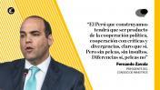 Zavala ante el Congreso: las frases sobre la reconstrucción