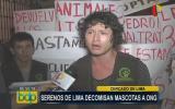 Lima: ONG denuncia que fiscalizadores les quitaron mascotas