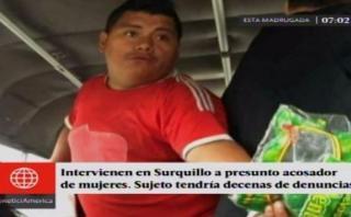 Jhon Pizarro Coronel recorrió durante más de una hora y media la discoteca Fuego para la reconstrucción de la denuncia de violación en Santa Anita. (USI)