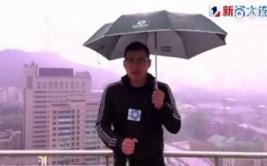 YouTube: caída de rayo alcanzó a periodista de TV en vivo