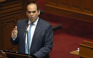 Fernando Zavala indicó que la propuesta hecha por PPK para voltear la página implica que el gobierno y la oposición trabajen juntos. (Foto: EFE/ Video: Congreso)