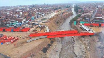 Puente Bella Unión: así está la obra tras 21 meses de trabajo