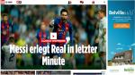 Barcelona vs. Real Madrid: las portadas de la prensa mundial - Noticias de real madrid vs barcelona