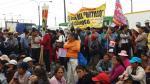 Carapongo: marchan por falta de agua potable desde hace 20 años - Noticias de ramiro prialé