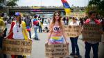 """Venezuela: oposición hizo """"plantón"""" nacional contra Maduro - Noticias de caracas fc"""