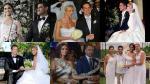 A propósito de Korina y Mario: las bodas más mediáticas - Noticias de farándula internacional